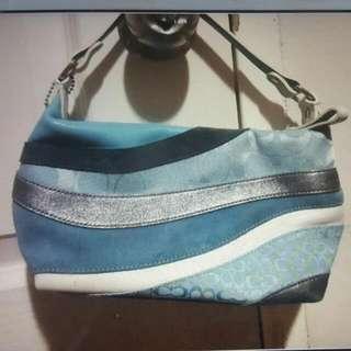 Authentic Mini Coach Handbag