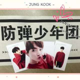 BTS Japan FM Photocards