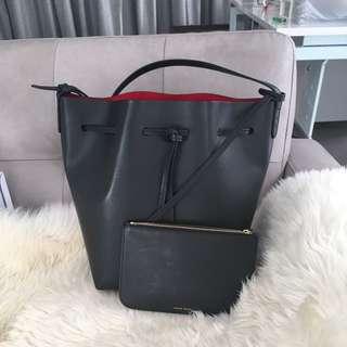 authentic mansur gavriel bucket bag