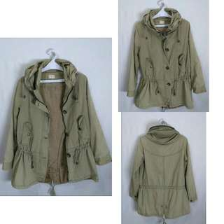 Parka Unisex Brown