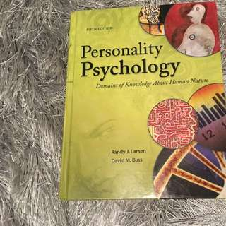 PSYB30 Personality Psychology textbook