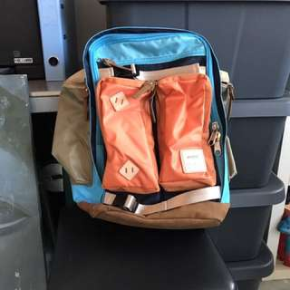 Anelo Backpack From Japan. Genuine