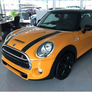 2014 MINI COOPER S 2.0 FACELIFTED FULL SPEC