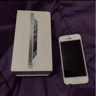 JUAL CEPAT iPhone 5 16gb Silver original