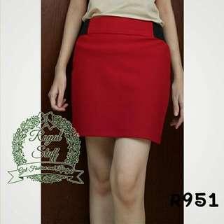Sale Rok Bodycon Mini _ Merah Hati