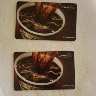 200 Tim Hortons Gift Card