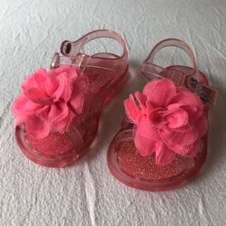 SEED Pink Jelly Shoes Sandals 12-18M