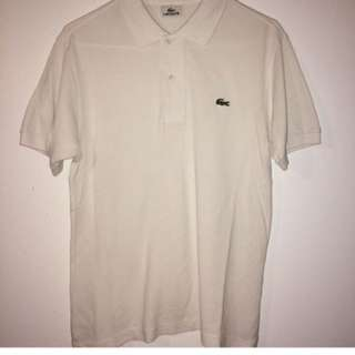 Lacoste Polo Button Up