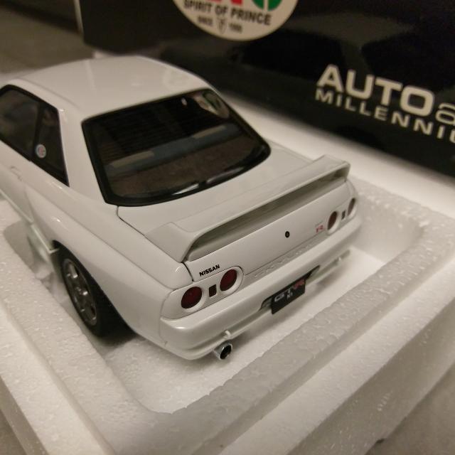 1/18 Autoart Nissan Skyline R32 GTR N1 Special Ver SRC