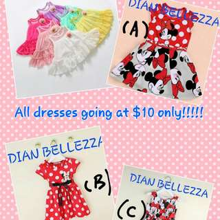 (CLOSED) GOOD FRIDAY SALE!! DRESSES AT $10 ONLY