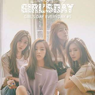 LF/WTB Girls Day Everyday 5 Unsealed