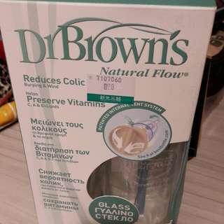 布朗博士 玻璃防脹奶瓶