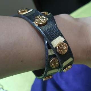 Auth Tory Burch Wrap Bracelet