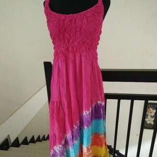 Dress Pelangi Pink