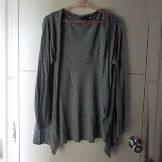 COTTON ON grey cardigan