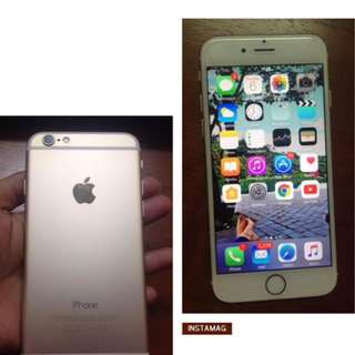 Hot Sale Iphone 6 16GB Gold (nego)