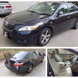 Spacious Toyota Camry For Rent