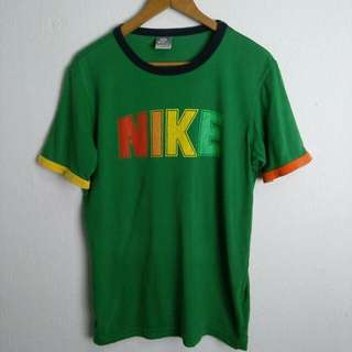 Nike Vintage Look Multicolor Ringer Shirt