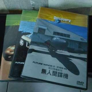 💿Discovery DVD 3件/組💿