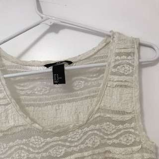 Lace H&M Singlet Top