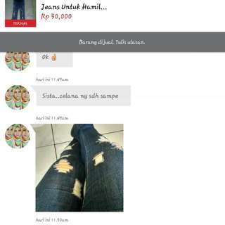 Testi Brng Sampai...thx U Say😘