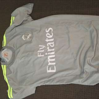 Manchester United Grey Kit Jersey
