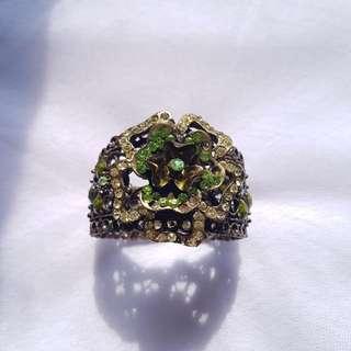 Green Alloy Bracelet