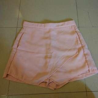 Skort Pink Lookboutique Sz S