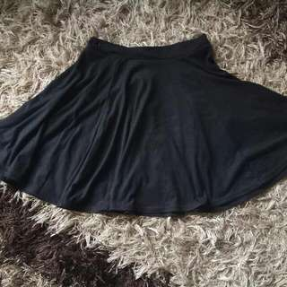 Logo Flaire Skirt