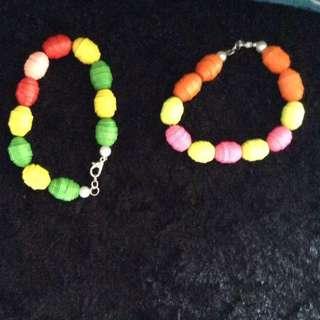 Handmade Paper Bracelet (qualling bracelet)