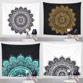 [Include Postage] Large Wall Mandala Tapestry