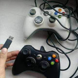 Xbox 360 Wired PC Controllers