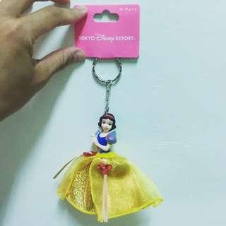 (含運)日本迪士尼購入 白雪公主鑰匙圈