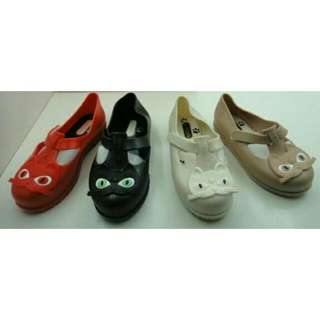 Mini Melissa Cat / Sepatu Anak Kucing / Kidshoes / Jelly Shoes Anak