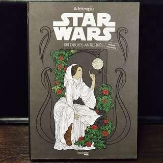 Arteterapia Star Wars Colouring Book