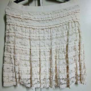 Lace Double Skirt