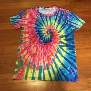 Rainbow spiral top Shirt