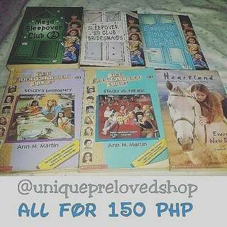 All Books For 150php