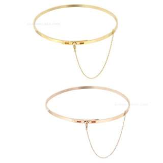 Chain Choker In Gold Or Rose gold