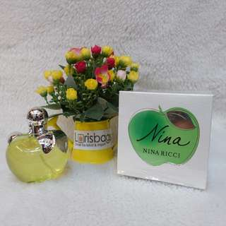 Parfum Nina Ricci Apple Green Original Singapore