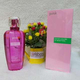 Parfum United Colour of Benetton Pink Original Singapore