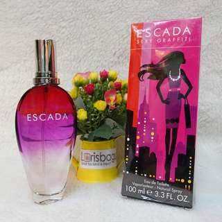 Parfum Escada Sexy Grafitti Original Singapore