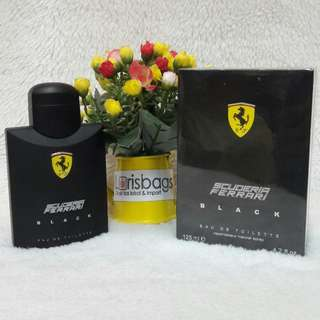 Parfum Ferrari Black Original Singapore