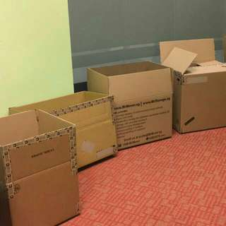 DOORSTEP DELIVERY CARTON BOXES & MOVING MATERIALS (Movers, Storage)