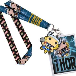 Funko Pop Lanyard Thor Marvel Collectible Toy Gift