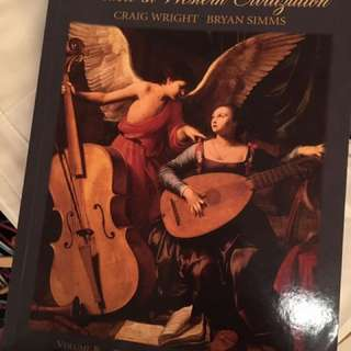 Music In Western Civilization Volume B - The Baroque And Classical Eras