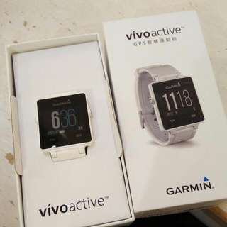 GARMIN Vivo active 防水 智慧錶