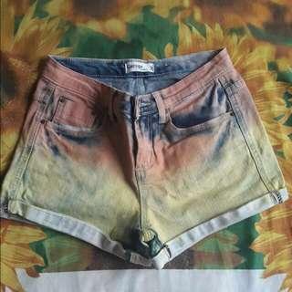 Ombre Short Pants