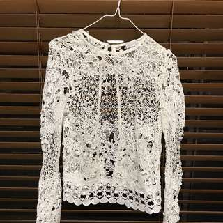 Shareen Crochet Top
