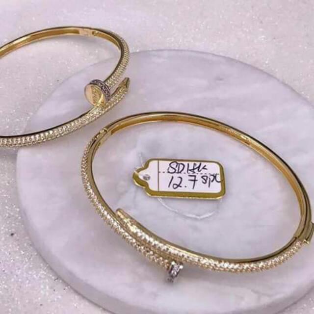 18K Saudi Gold Bracelet